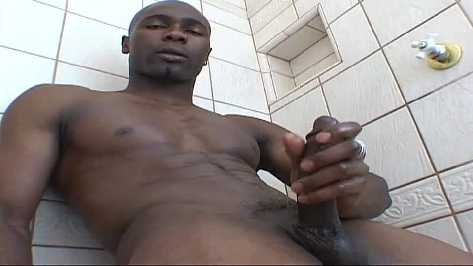 Schwarzer Schwanz Öffentliche Masturbation