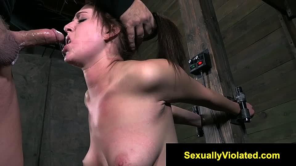 Gefesselte sexsklavin