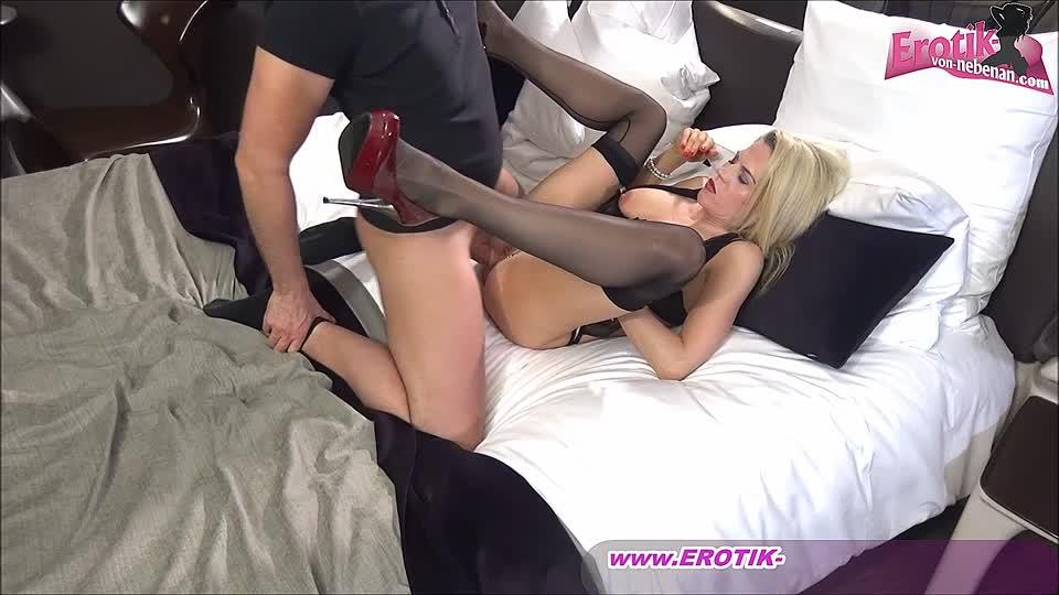 Große Titten Blondine Füße Nylon